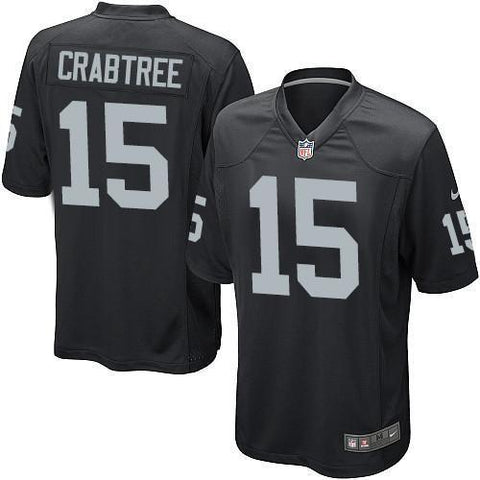 Autographed Michael Crabtree - Oakland Raiders Home Jersey