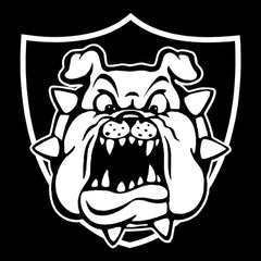 Derek Carr Raider Bulldog - Raiders 4 Life Decal/Window Sticker