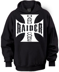 Hardcore Raiders 4 Life Iron Cross Pullover Hoodie