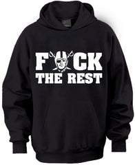 F THE REST Raiders 4 Life Pullover Hoodie