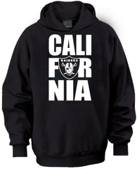 CALI FOR NIA Raiders 4 Life Pullover Hoodie