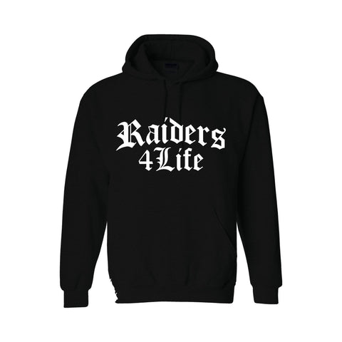Old English - Raiders 4 Life Pullover Hoodie