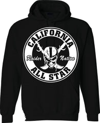 Cali All Star - Raiders 4 Life Pullover Hoodie