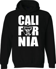 CALI FOR NIA - Raiders 4 Life Pullover Hoodie