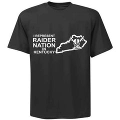 I Represent Raider Nation in Kentucky - R4L Shirt