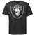 Raiders Shield 4 Life Tee Shirt