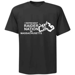 I Represent Raider Nation in Massachusets - R4L Shirt