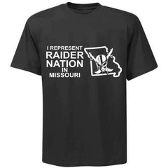I Represent Raider Nation in Missouri - R4L Shirt