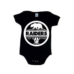 Seal of California - Raiders 4 Life Kids Shirt or Onesie