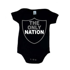The Only Nation - Raiders 4 Life Kids Shirt or Onesie