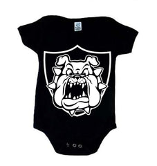 Derek Carr Raider Bulldog - Raiders 4 Life Kids Shirt or Onesie