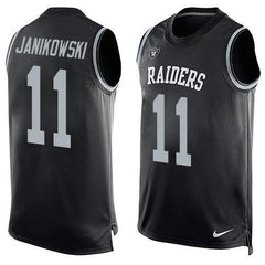 Sebastian Janikowski - Oakland Raiders Limited Edition Basketball Style Jersey