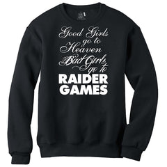 Bad Girls - Raiders 4 Life Sweater