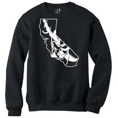 California Skull Map - Raiders 4 Life Sweater