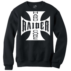 Hard Core Raider Iron Cross - Raiders 4 Life Sweater