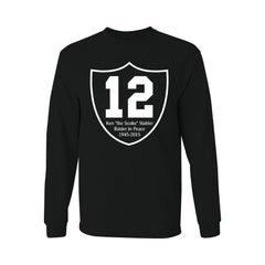 "RIP Ken ""the Snake"" Stabler Shield - Raiders 4 Life Sweater"