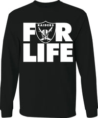FOR LIFE - Raiders 4 Life Sweater