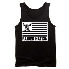 Raiders 4 Life Flag Tank Top