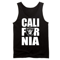 CALI FOR NIA Raiders 4 Life Tank Top