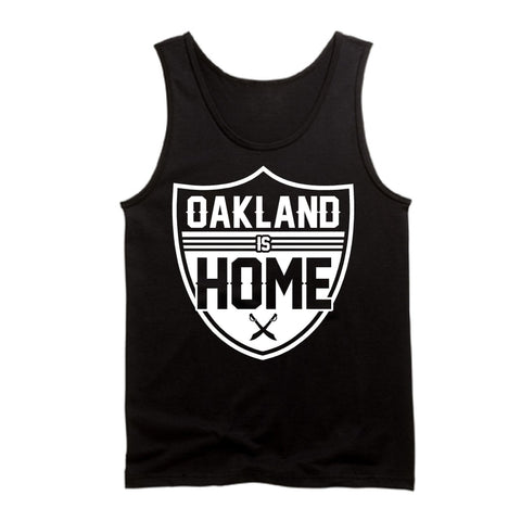 Oakland is Home - Raiders 4 Life Tank Top