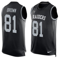 Tim Brown - Oakland Raiders Limited Edition Basketball Style Jersey