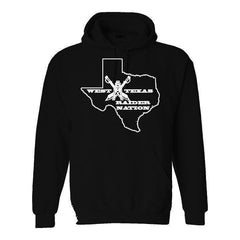 West Texas Raider Nation - Raiders 4 Life Pullover Hoodie