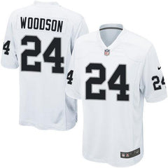 Charles Woodson - Oakland Raiders Away Jersey