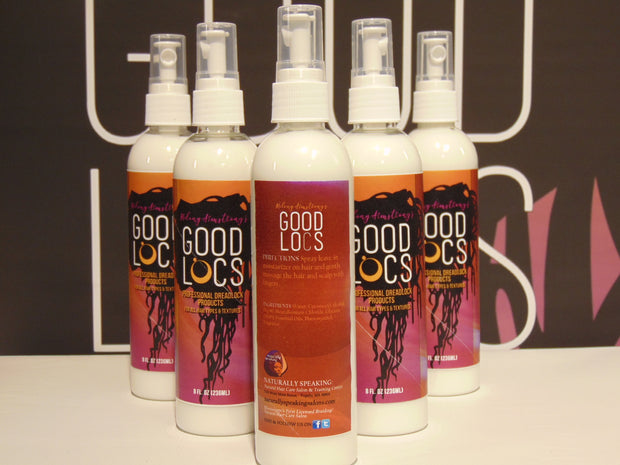 Good Locs Dreadlock and Braids Treatment Bottle