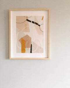 A Sunday Morning Giclee Art Print 30 x 40cm, 50 x 70cm