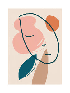 A Sleeping Head Giclée Print
