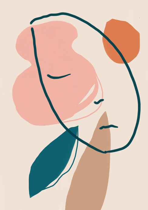 A Sleeping Head Waiting For the Spring Giclée print A5-A1 sizes