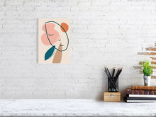 Load image into Gallery viewer, A Sleeping Head Waiting For the Spring Giclée art print