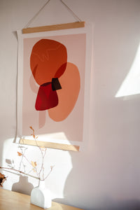 Sunset Shapes Giclée Fine Art Print