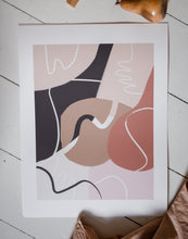 Load image into Gallery viewer, Swirls Fine Art Print 30 x 40 cm