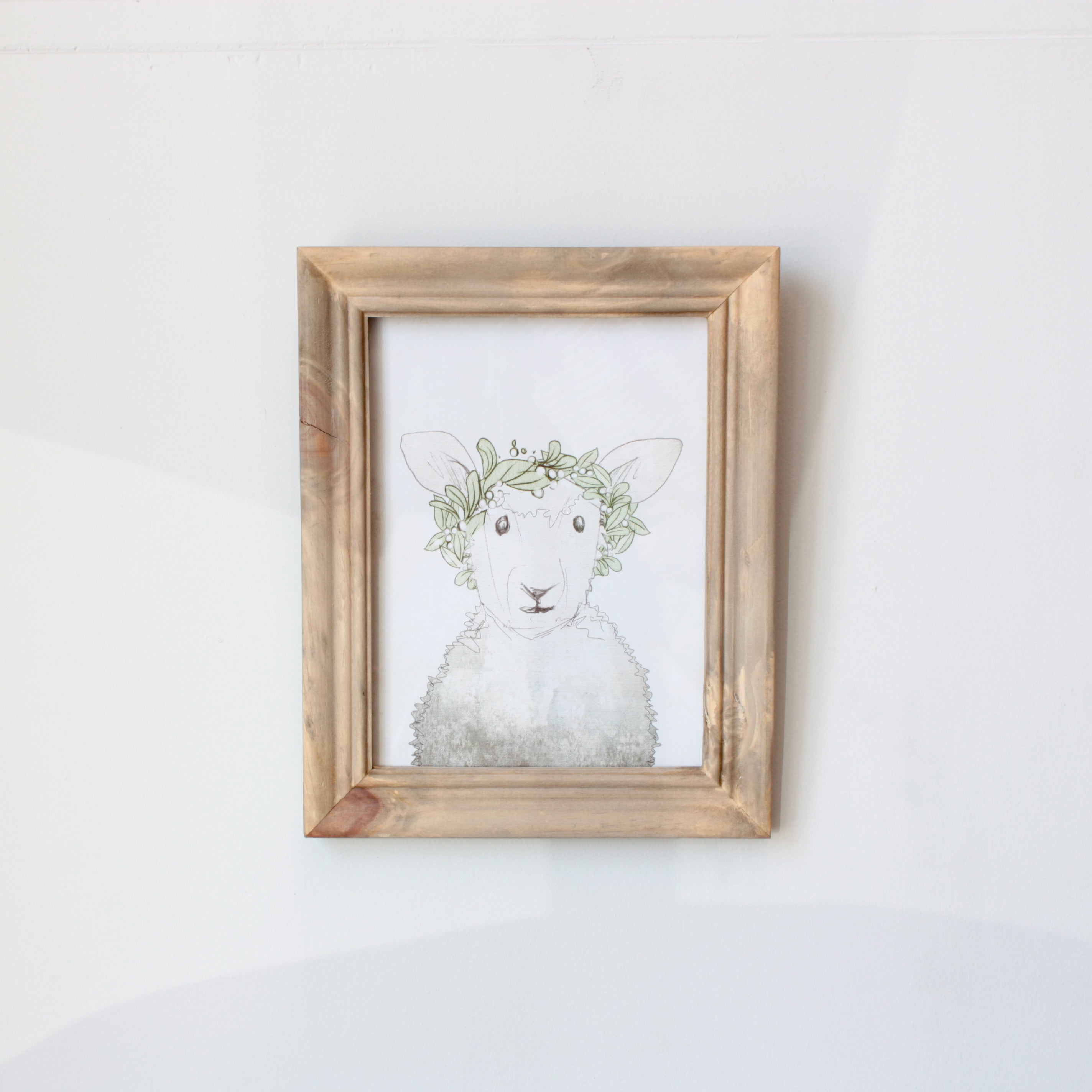 Whimsical Wildlife Prints in Frame