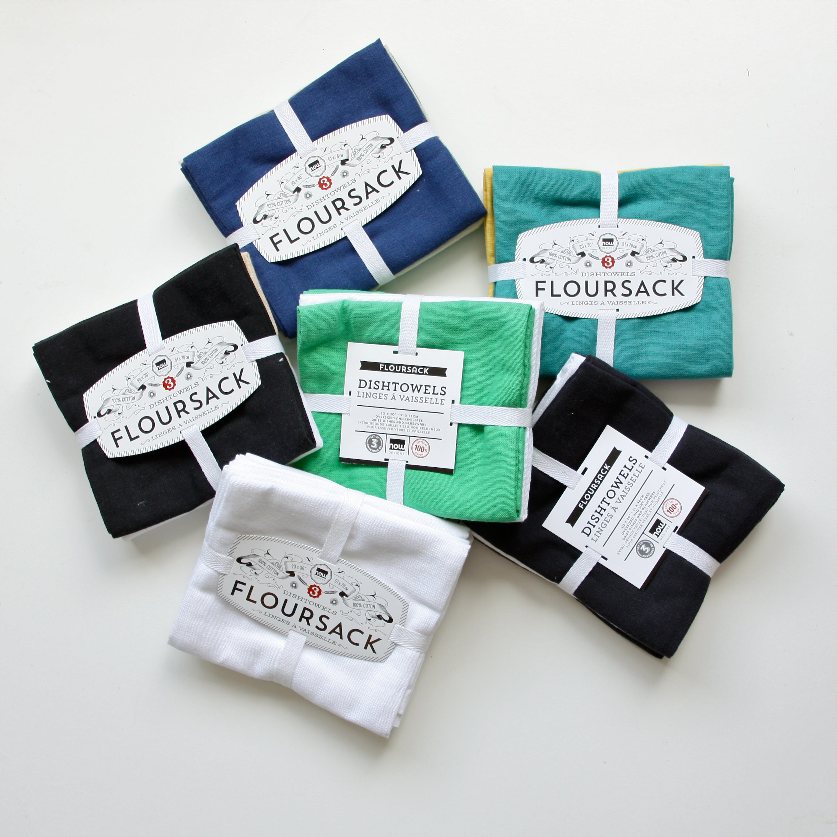 Floursack Tea Towel 3 Packs