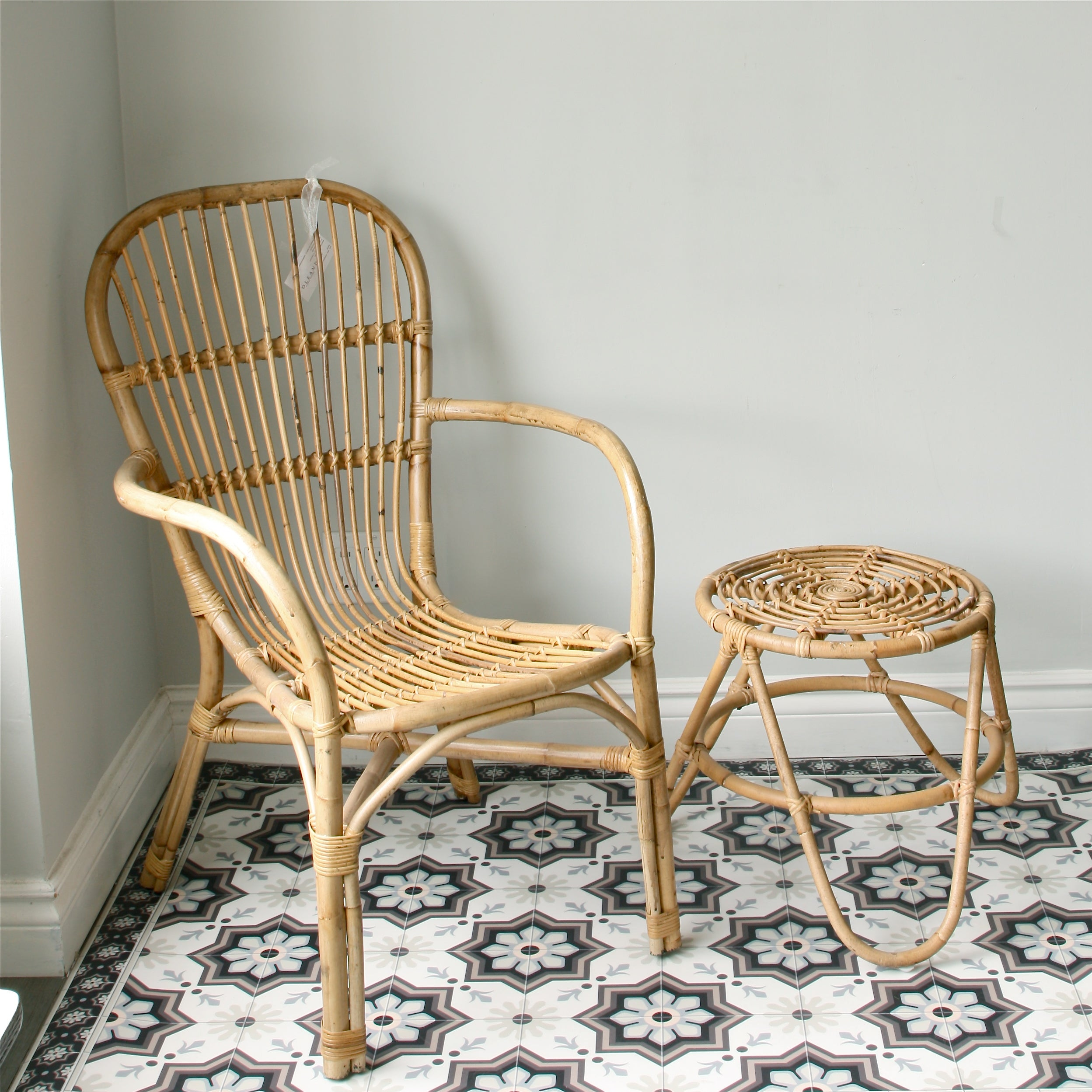 Bamboo and Wicker Patio Furniture