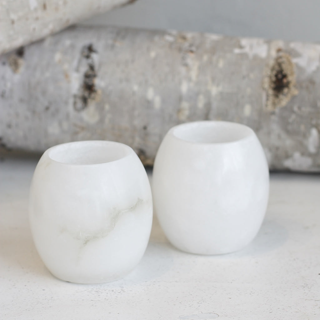 Solid Marble Tealight Holder