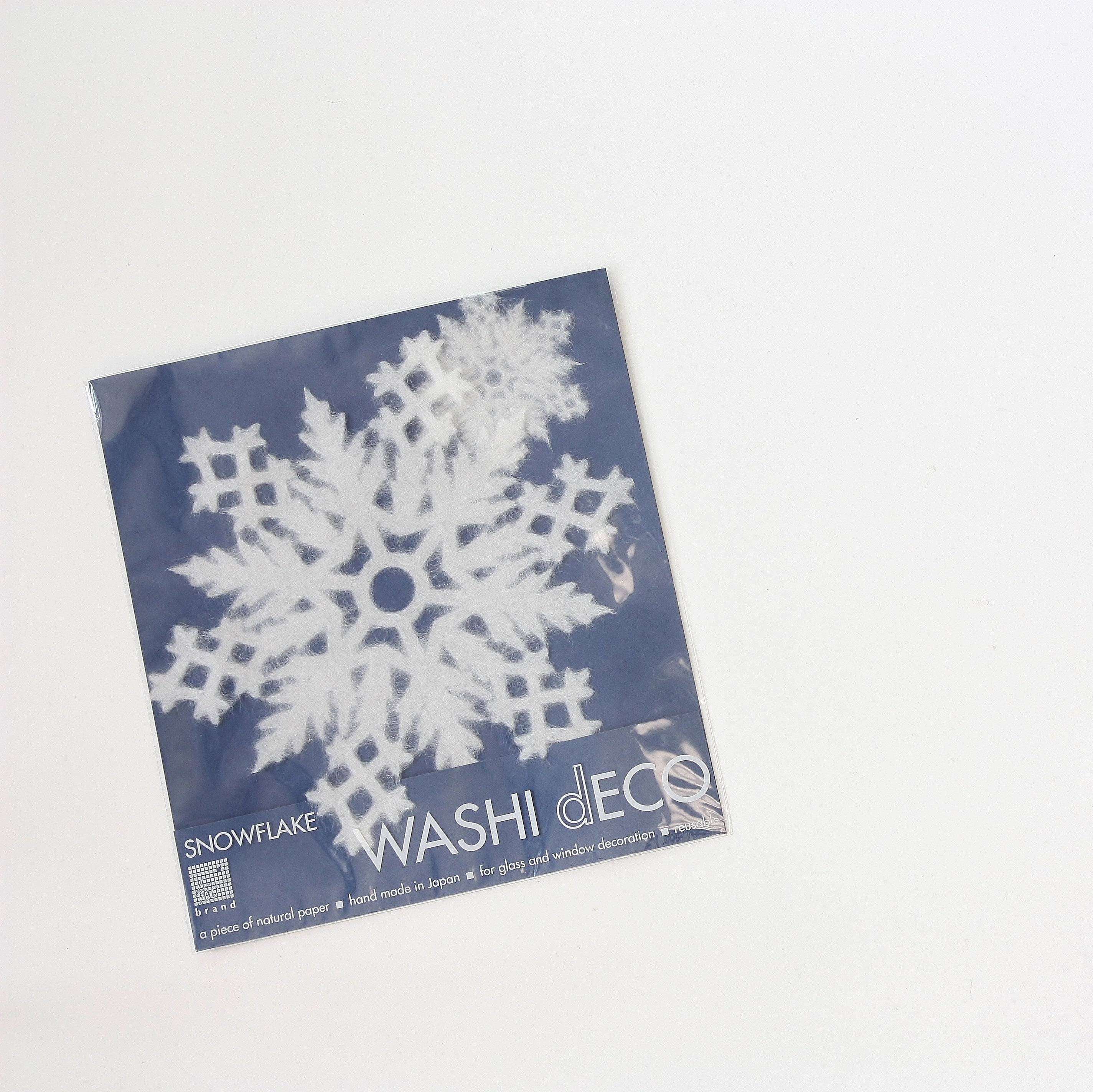 Washi Snowflake Decals