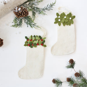 Mini Felt Stockings
