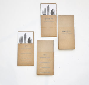 Place Setting Pockets