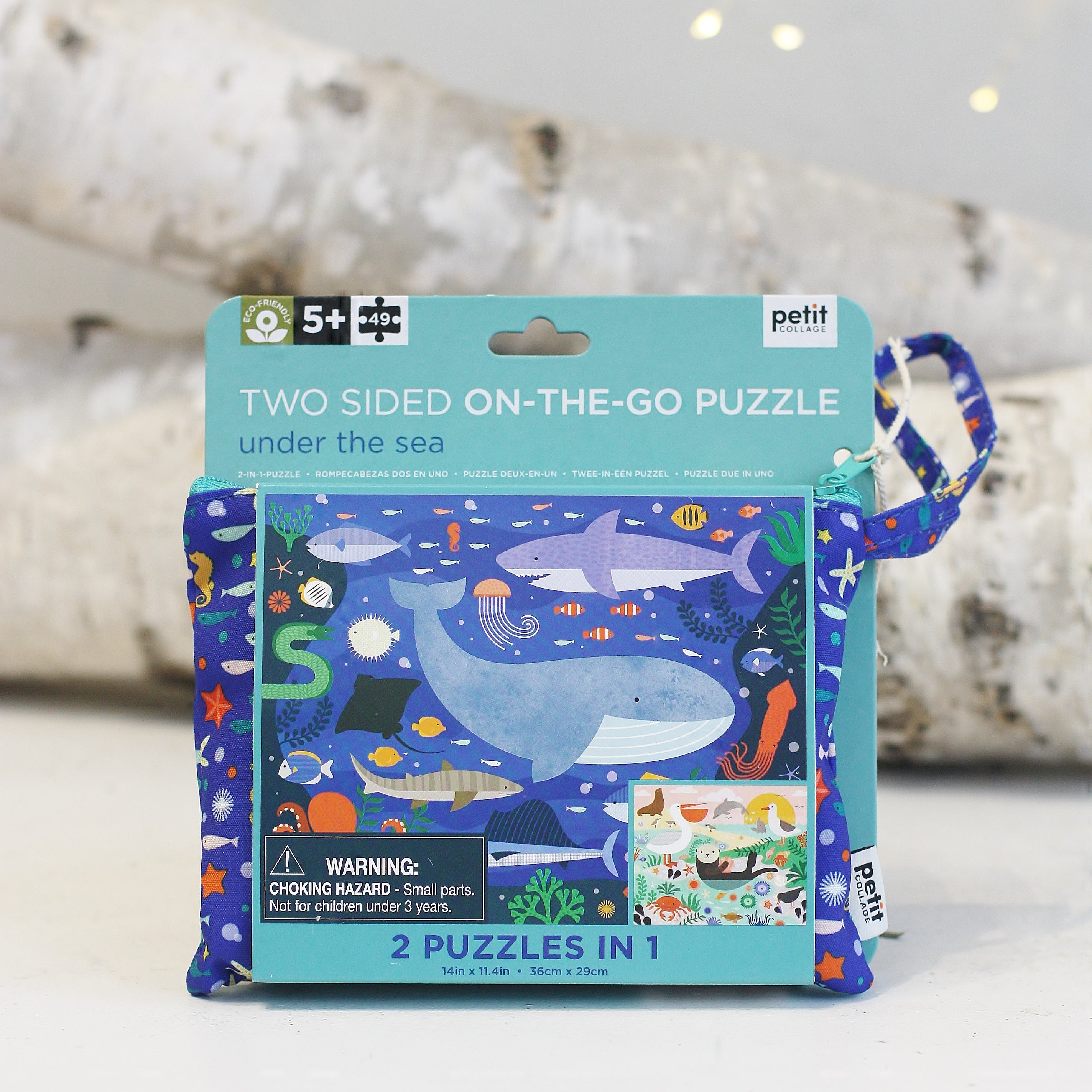 Two Sided On-The-Go Puzzles