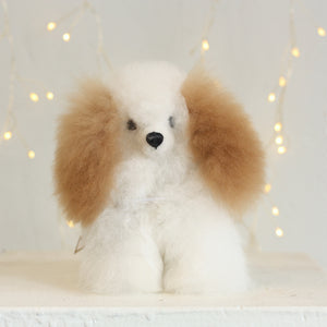 Alpaca Wool Stuffed Animals - Puppy