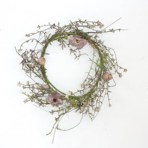 Whispy Wildflower Wreath