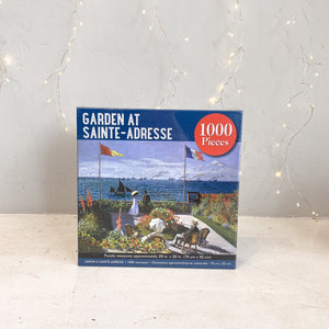 Garden at Sainte-Adresse Puzzle