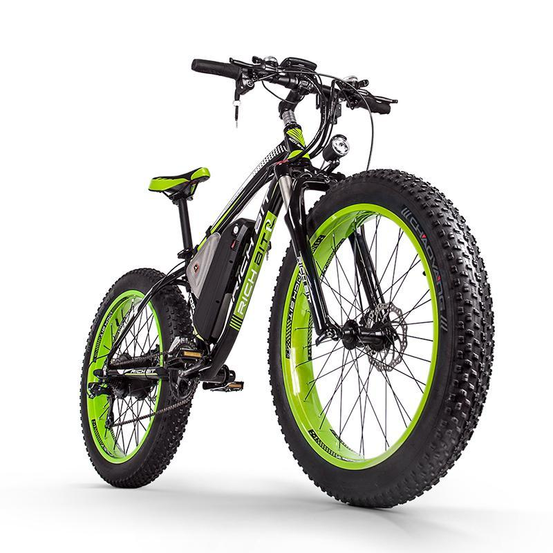 RT-012 Plus 21s Electric Bike With Computer Speedometer