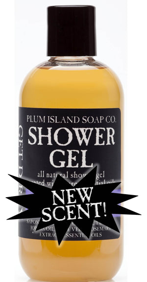 NEW SCENTS! SHOWER GEL