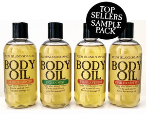 BODY OIL SAMPLE PACK - TOP SELLERS