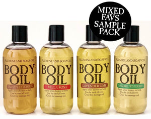 BODY OIL SAMPLE PACK - MIXED FAVS