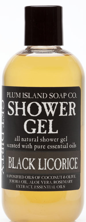 Black Licorice Shower Gel